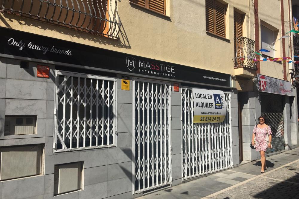 inmobiliaria Sant Cugat, local alquiler